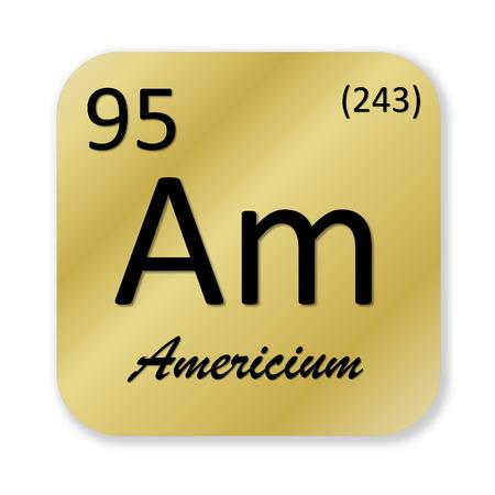 Americium element photo