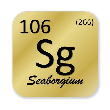 Seaborgium element photo
