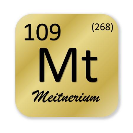Meitnerium element photo