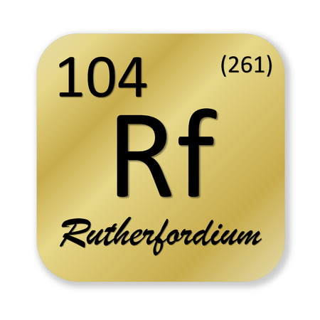 isotope: Rutherfordium element