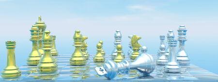 Checkmate - 3D render