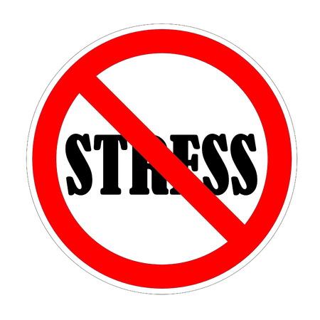 burn out: Stress forbidden