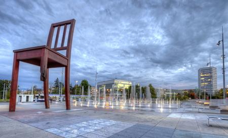 미국 - 유엔 장소, 제네바, 스위스, HDR