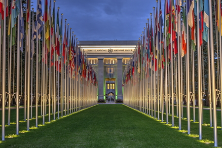 United-Nations, Geneva, Switzerland, HDR