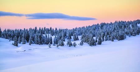 jura: Jura mountain in winter, Switzerland Stock Photo