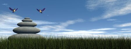 paloma de la paz: Paz Bird - 3D render Foto de archivo