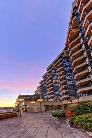 hdr: Building in Geneva, Switzerland, HDR