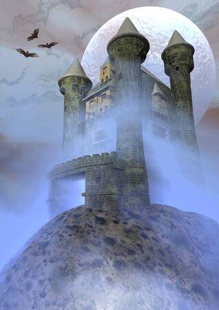 odd: Odd castle - 3D render