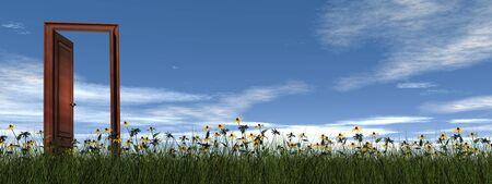 cielos abiertos: Puerta a todos los sue�os - 3D render