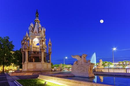 hdr: Brunswick monument, Geneva, Switzerland, HDR