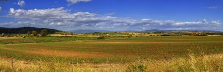 toscana: Toscana nature panorama landscape by day, Italy Stock Photo