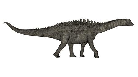 Ampelosaurus Dinosaurier - 3D render Standard-Bild - 87814687