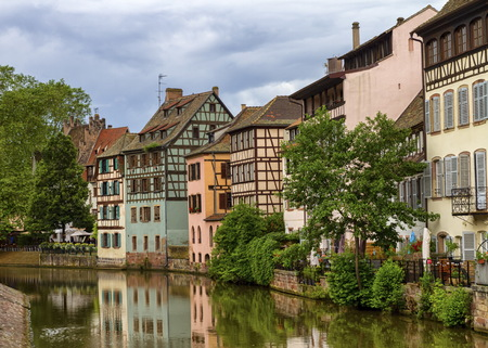Petite France, Straßburg Standard-Bild - 87954684