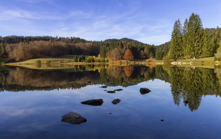 Lac Genin, Jura, France