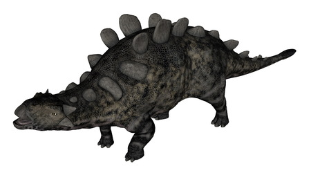 Chrichtonsaurus dinosaur standing - 3D render Standard-Bild - 93601757