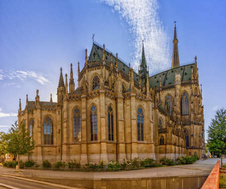 New Cathedral of the Immaculate Conception, Neuer Dom, Linz, Aus Banque d'images - 158459227