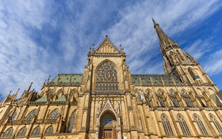 New Cathedral of the Immaculate Conception, Neuer Dom, Linz, Aus Banque d'images - 158462756
