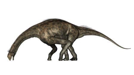 Atlasaurus dinosaur - 3D render