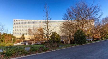 Geneva, Switzerland - December 7: Headquarters of the International Labour Office