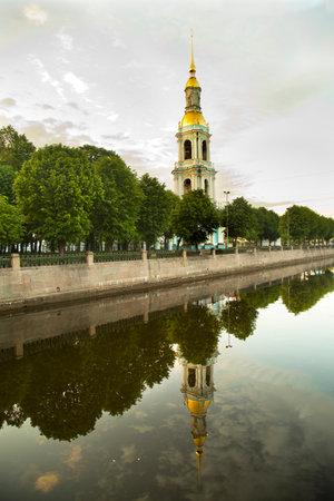 SAINT-PETERSBURG, RUSSIA. 2 JUNY 2016. Saint Nicholas Naval Cathedral, St Petersburg, Russia.