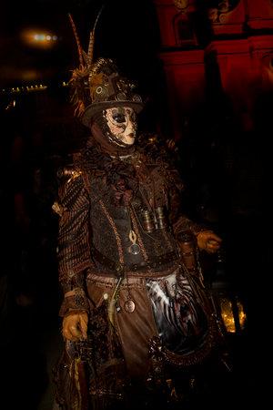 baroque: LUDWIGSBURG, GERMANY , 10 SEPTEMBER 2016.  Venice Carnival in Ludwigsburg, Germany.