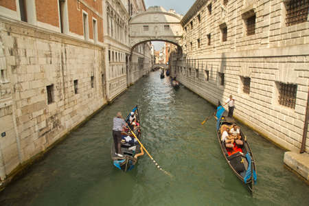 venice: VENICE, ITALY, 4 SEPTEMBER 2016. One of Canal in Venice.