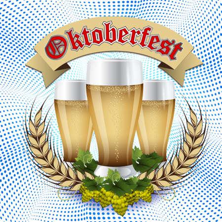Oktoberfest Beer festival celebration design