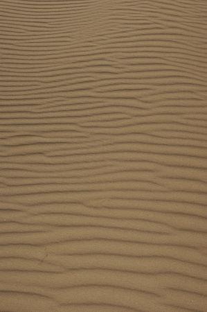 Sand dune pattern.