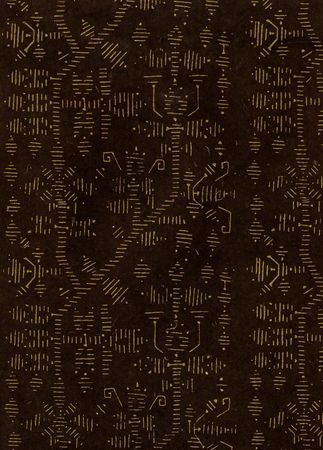 cryptic: Block Printed Crytic Signs Paper
