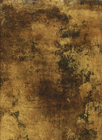 Gold Painted Paper