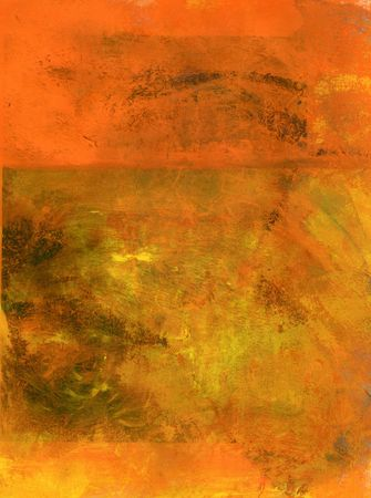 textural: Orange abstract painting background.