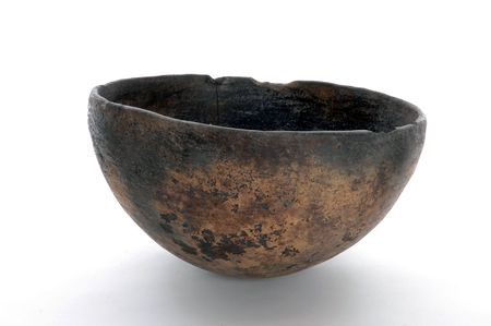 textural: An ancient bowl. (It really is).
