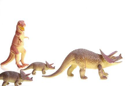 Dinosur threat. photo