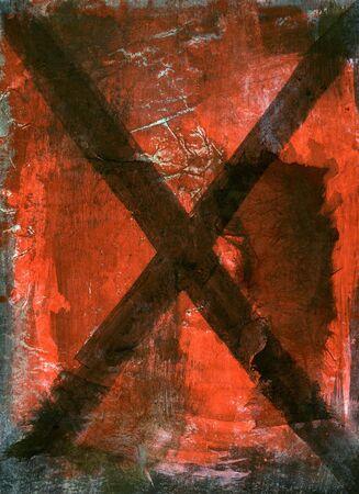 porno: X. Mixed Medium Malerei.