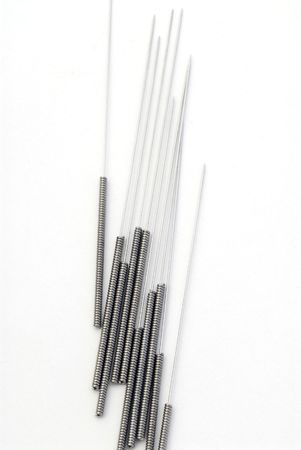 Needles for acupuncturists.