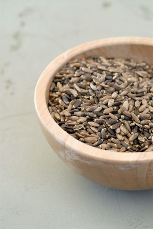 Milk Thistle Seeds noted for their liver detoxifying uses.