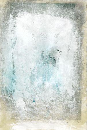 Abstract schilderij, gevormd als een kunst substraat en gescand.