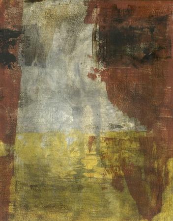 絵画抽象地球トーンの色