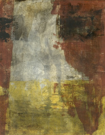 textural: Abstract earth tone colors painting
