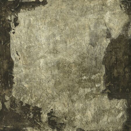 Abstract painting umber and beige texture