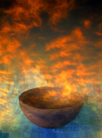Sunrise creation bowl Stock Photo - 17123998