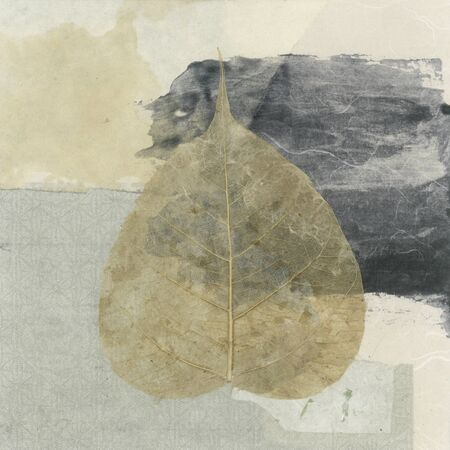 Wabi-sabi Bodhi leaf collage