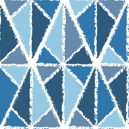trigonal: Rhombic seamless geometrical pattern.  Illustration