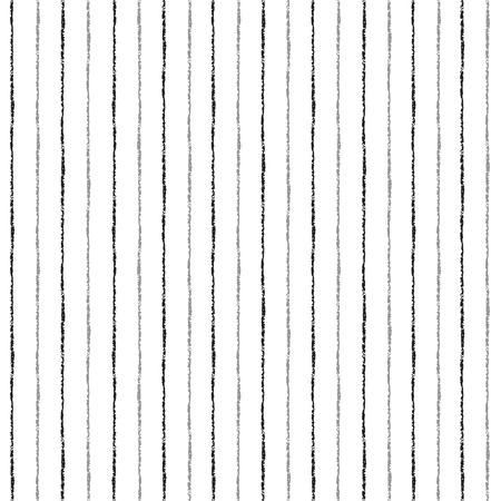 ブラシは、シームレスなパターンのベクトルをストライプ化されます。白の背景に薄い黒とグレーのストライプ。縞模様の白黒背景。  イラスト・ベクター素材