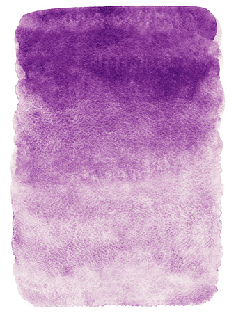 Lilac gradient watercolor background. Hand drawn texture. Rough, artistic edges.
