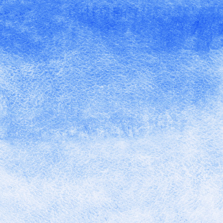 fill: Cobalt pastel blue watercolor abstract background. Gradient fill. Hand drawn texture. Piece of heaven. Watercolour template.