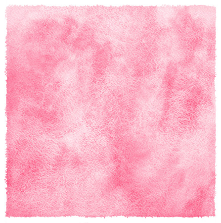 abstract pink: Pink or light red watercolor abstract background with stains. Valentines day watercolour texture. Hand drawn fill with rough, uneven edges and paper texture.