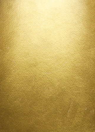Gold background. Rough golden texture. Luxurious gold paper template for your design. Standard-Bild