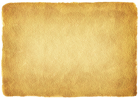 rounded edges: Golden background. Rough gold texture. Luxurious gold paper template for your design. Yellow vintage grunge texture with uneven edges and rounded corners. Stock Photo