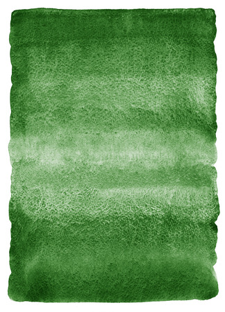 rounded edges: Dark green watercolor background. Gradient fill. Deep-green watercolour texture. Nature, eco template. Rough, uneven edges and rounded corners.